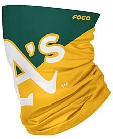 Oakland Athletics Colorblock Big Logo Gaiter Scarf