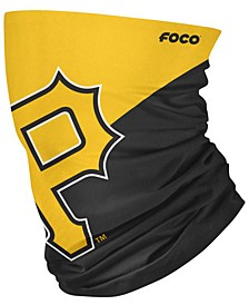 Pittsburgh Pirates Colorblock Big Logo Gaiter Face Mask Scarf
