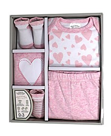 Baby Boys and Girls 5 Piece Gift Set