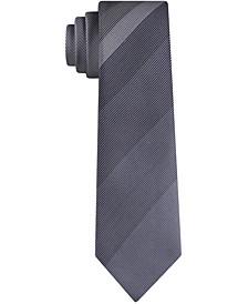 Men's Fine Line Panel Skinny Tie