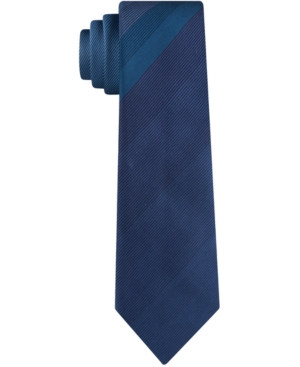 Kenneth Cole Reaction Men's Fine Line Panel Skinny Tie