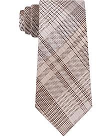 Men's Luxe Skinny Glen Check Tie