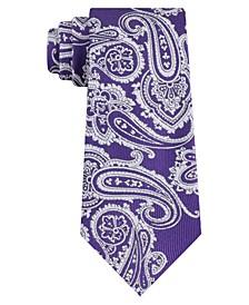 Men's Skinny Paisley Tie