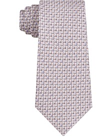 Men's Skinny Geometric Neat Tie