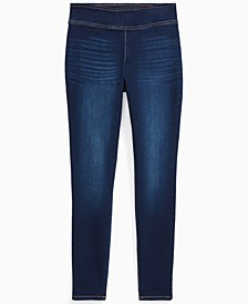 INC Pull-On Denim Jeggings, Created for Macy's