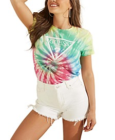 Tie-Dye Easy Logo Graphic T-Shirt