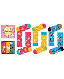 Women's Breakfast Socks Gift Box, Pack of 3