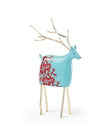 Festive Folk Large Reindeer Figurine