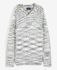 Lucky Brand Men's Spacedye Hooded Sweater