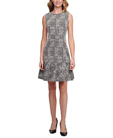 DKNY Flounce Sheath Dress