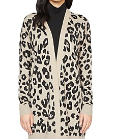 Play Printed Open-Front Cardigan