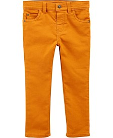 Toddler Boy 5-Pocket Stretch Pants