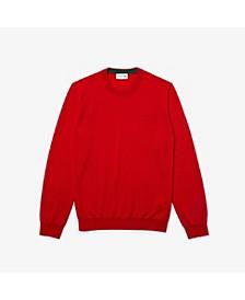 Men's Classic Fit Long Sleeve Crew Neck Sweater
