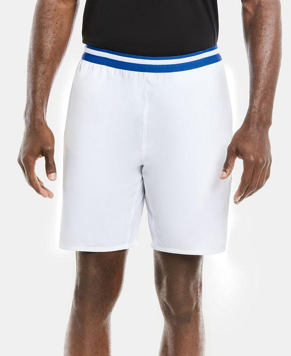 Lacoste Men's SPORT Novak Djokovic On Court Tennis Shorts with Striped Waistband