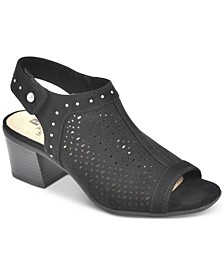 Life Saver Block Heel Peep-Toe