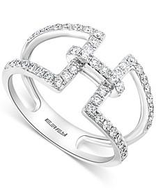EFFY® Diamond Statement Ring (1/2 ct. t.w.) in 14k White Gold