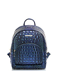 Mini Dartmouth Melbourne Embossed Leather Backpack