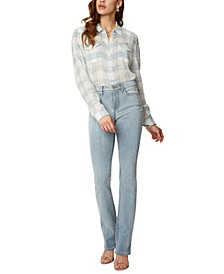Slim-Fit Bootcut Jeans