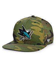'47 Brand San Jose Sharks Grove Captain Cap