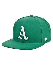 Oakland Athletics Coop Shot Snapback Cap