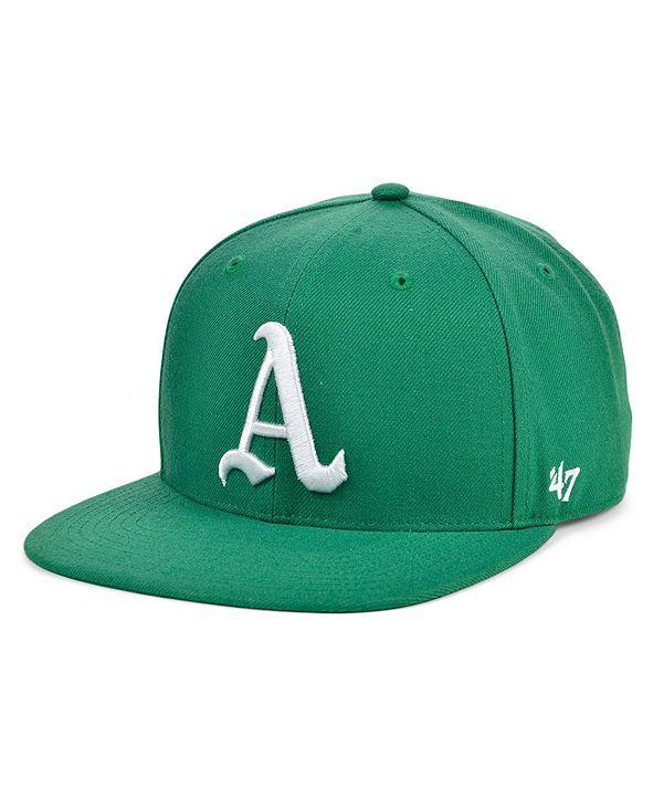 '47 Brand Oakland Athletics Coop Shot Snapback Cap