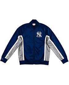 Men's New York Yankees Two-Tone Game Track Jacket
