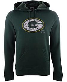 Green Bay Packers Men's Distressed Logo Hoodie