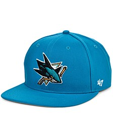 San Jose Sharks No Shot Snapback Cap