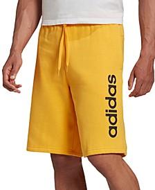 """Men's Linear Logo 11"""" Fleece Shorts"""