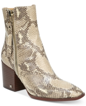 Sam Edelman Boots WOMEN'S CARLYSLE DRESS BOOTIES WOMEN'S SHOES