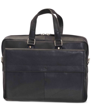 """Colombian Collection Single Compartment 15.6"""" Laptop / Tablet Briefcase"""