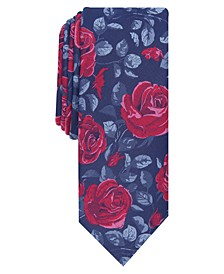 Men's Louden Floral Slim Tie, Created for Macy's