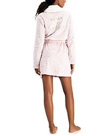 Short 'Ready To Snooze' Cozy Robe, Created for Macy's