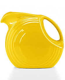 Fiesta Sunflower 67.75-oz. Large Disk Pitcher