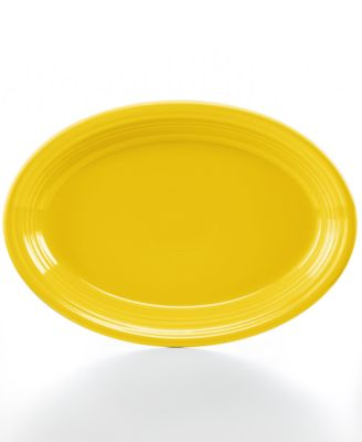 "Sunflower 13"" Oval Platter"