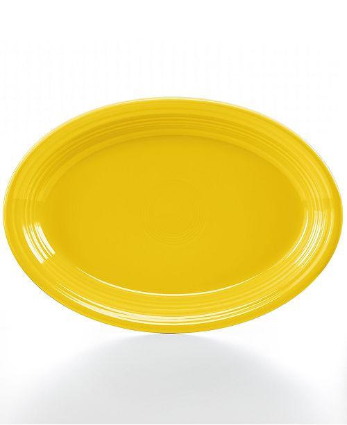 """Fiesta Sunflower 13"""" Oval Platter"""