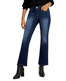 INC Petite Curvy Elizabeth Bootcut Jeans, Created for Macy's