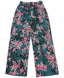 Floral-Print Tie-Waist Pants, Created For Macy's