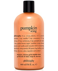 Pumpkin Icing Shampoo, Shower Gel & Bubble Bath, 16-oz.