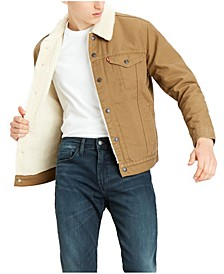 Men's Big and Tall Sherpa Trucker Jacket