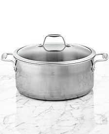Zwilling Spirit Polished Stainless Steel 8-Qt. Covered Dutch Oven
