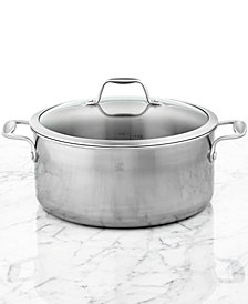 Zwilling J.A. Henckels Spirit Polished Stainless Steel 8-Qt. Covered Dutch Oven
