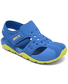 Little Boys Side Wave Stay-Put Sandals from Finish Line