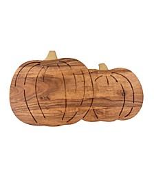 CLOSEOUT! Pumpkin Wood Serving Board
