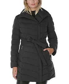 Asymmetrical Puffer Coat