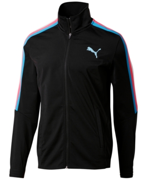 Puma Men's Contrast Striped Jacket