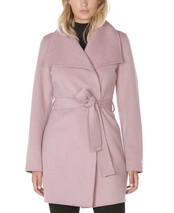 Tahari Ella Belted Wrap Coat