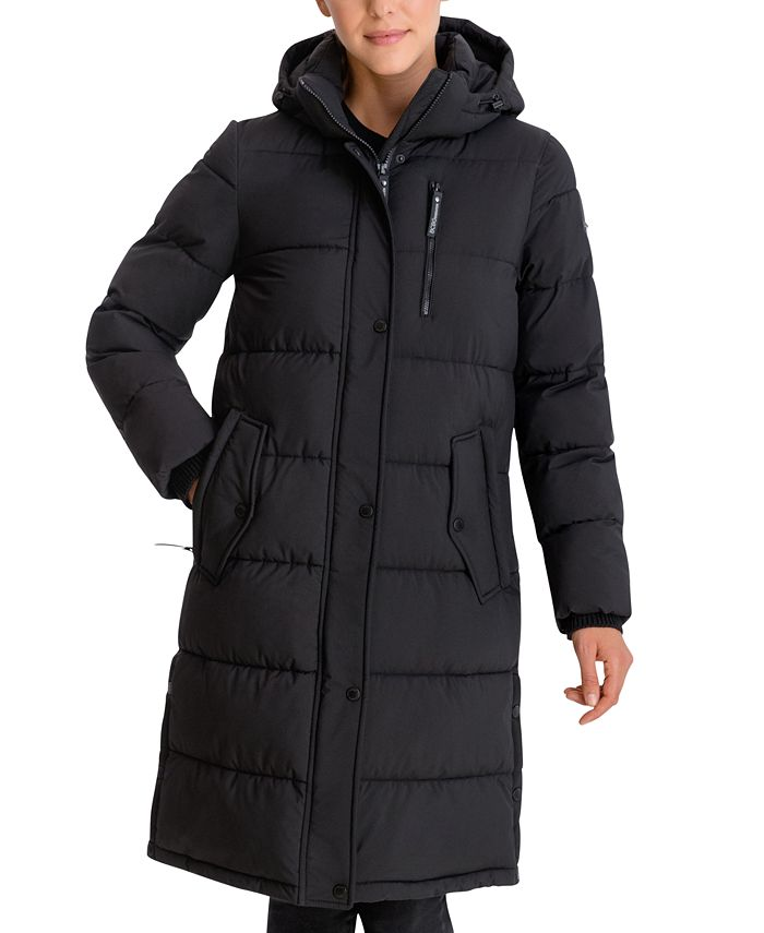 BCBGeneration - Hooded Water-Resistant Puffer Coat