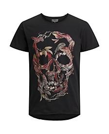 Men's Printed Short Sleeve Crew Neck T-Shirt