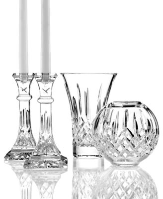 Waterford Crystal Gifts Lismore Vase 7 Bowls Vases Macys